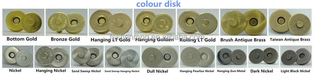 wholesale 18mm ultra thin magnet button