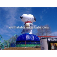 2017 New products inflatable model inflatable snoopy for exhibition