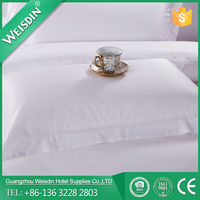 WEISDIN 100% cotton 300 thread count Good quality and cheap price hotel pillowcase made in China