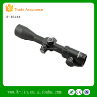 Rifle Scope 2-16x44SF Red/GreenIlluminated Glass Mil Dot Reticle Turrets W/Locking/Resetting Side Focus Riflescope