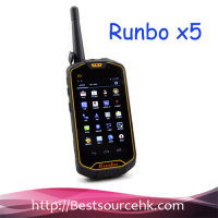 BEST Waterproof Runbo X5 IP67 Android Rugged Smartphone Walkie Talkie Dual SIM MTK6577 Dual Core 1GB RAM FOR Outdoor IN STOCK