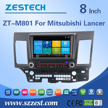NEW car accessories auto radio gps car dvd for Mitsubishi lancer car dvd player gps navigation with AUX bluetooth