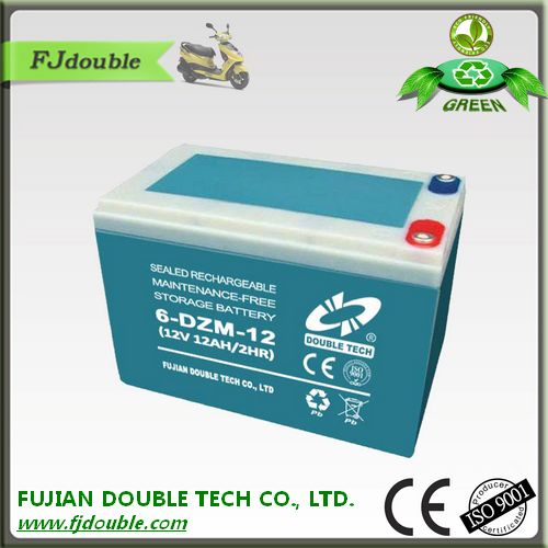 cheap electric bike rechargeable 6-dzm-12 12v 12ah batteries for e-bike
