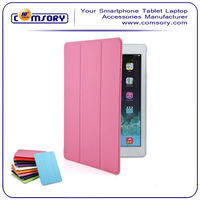 For iPad Air ipad 5 Color leather case with clear back cover