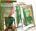 bamboo foot mask shiny foot peeling liquid k with Russian package 2pairs