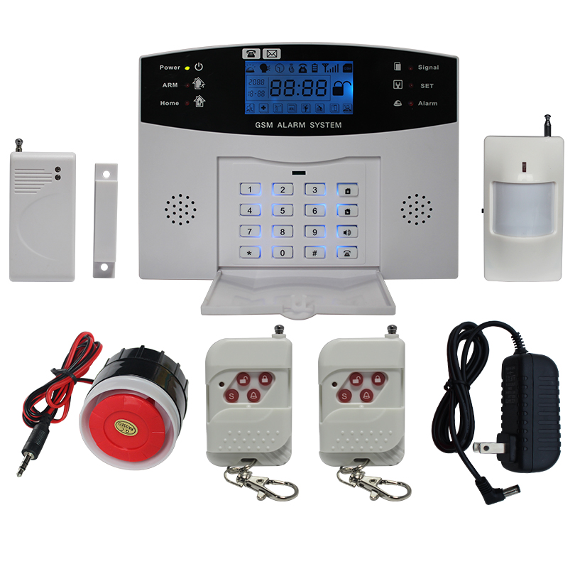 The factory sale WIFI/GSM/3G/ wireless LCD display home security camera system UM-G500