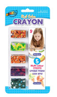 Rainbow Crayons with Rich Colors, pass Target and Walmart aduit