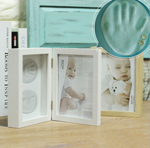 Hot Cheap wholesale 9*7 Cute Baby Photo Frame Wedding Favor Baby Shower Theme Resin Picture Frames Gifts