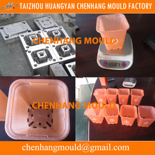 Ready made plastic flower pot mould