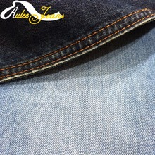 Organic 100% combed cotton yarn denim fabric for shirt ready in stock