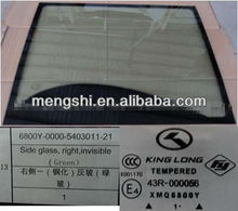 bus front windshield glass suitable for King Long Higer Golden Dragon Yutong