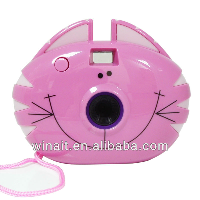 Hot Selling Kid Toy Camera with 0.3mp CMOS Sensor Digital Camera