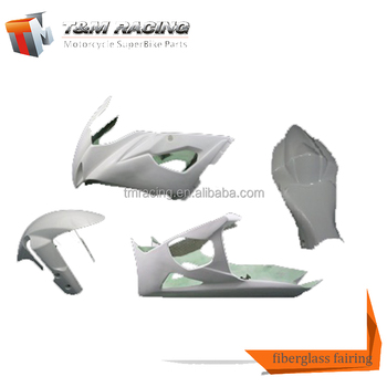 Patented Inovative Idea Product motorcycle front fairing colored fiberglass cloth for suzuki gsxr1000 05-06