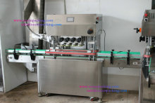 automatic glass jar capping machine for food , beverage , cosmetic , chemical , medical ,etc
