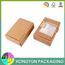 China tea packaging supplies manufacture special kraft carton tea box