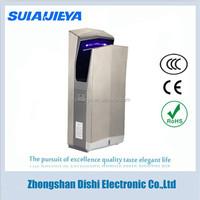 bathroom appliances stainless steel jet air hand dryer