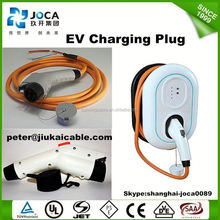 ev charging cables j1772 to 62196-2/sae j1772 plug type 1 to IEC 62196-2 type 2 plug