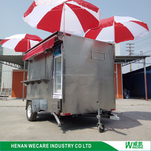 Cheap price better quality durable outdoor foodcart