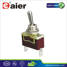 15A momentary 2 PIN toggle switch