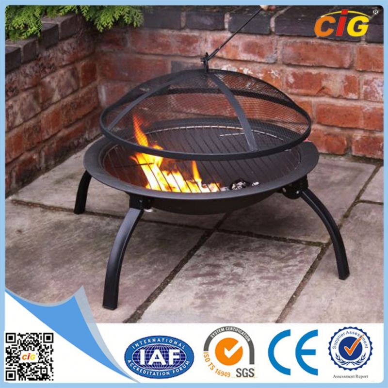 CE Approved Luxury firepit table