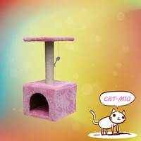 Cat Tree Safari 38 X 38 X 60 Cm Dark Brown