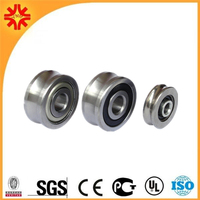 steel sliding door gate wheel double bearings