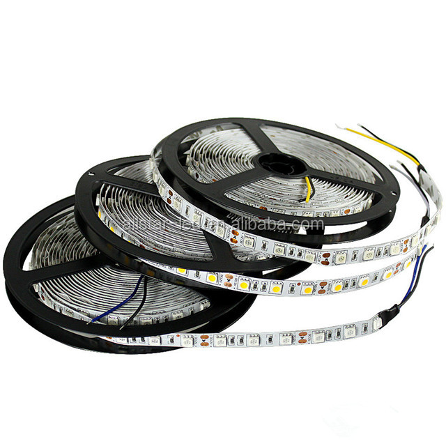 50 50 rgb led strip and Single Flexible Non-Waterproof 60leds/m LED Strip Light 300 LED/5m White Red Green Blue Yellow Warm