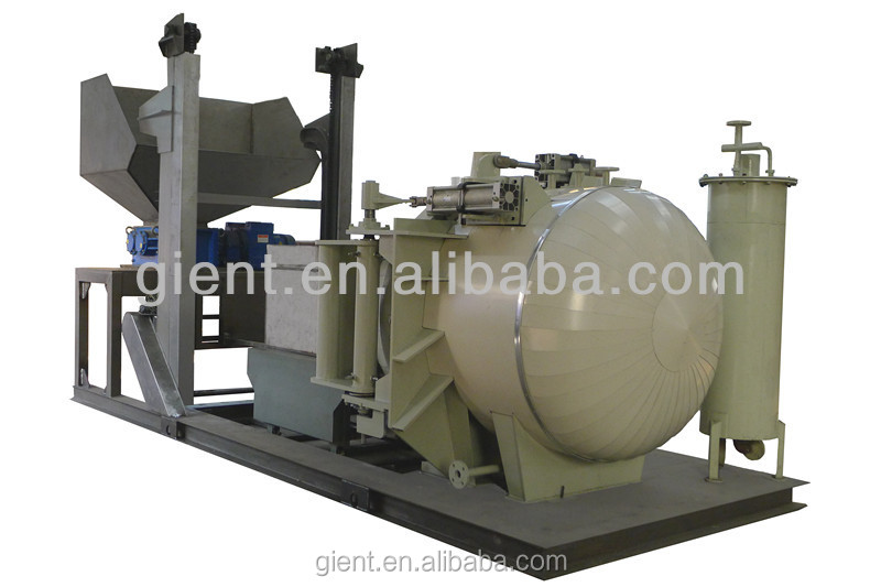AUTOCLAVE/ SHREDDER/BOILER/BIN DUMPER/AUTO TRANSFER LINE --MWO80(Capacity:80kg/cycle; 1t/day)