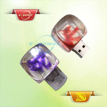 E-Power Novel Led Cube with Crystal USB U961