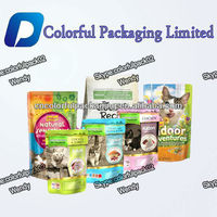 Customized 500ml Cat food herbal tea stand up reusable packaging bag aluminum zipper stand up pouch with hanger hole