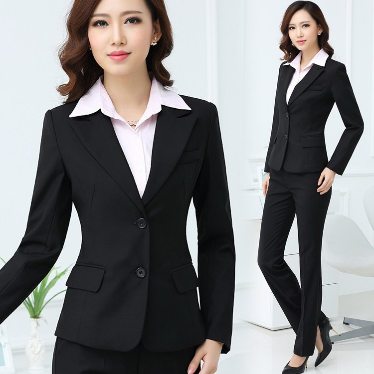 Woman Business Strong Suit Fashion Elegant Office