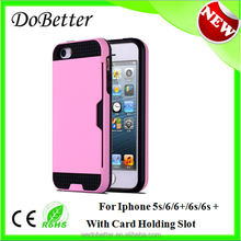 Hot New Retail Products Factory Price Super Slim Fit Smart Phone Case For Iphone 5s/6/6s