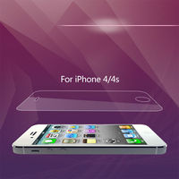 9H Hardness with Oleophobic Coating - Retail Packaging eyefly 3d screen protector for iphone 4/4s