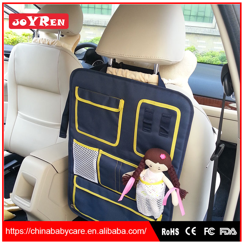 Hot Sale Multip Pocket Shape To Fit Different Country 'S Car Car Seat Organizers