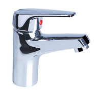 Alibaba high quality hot and cold mixer tap bathroom sink faucet