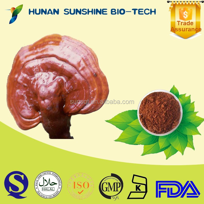 Hot sell sex products red reishi/lingzhi mushroom extract/ganoderma lucidum extract polysaccharide