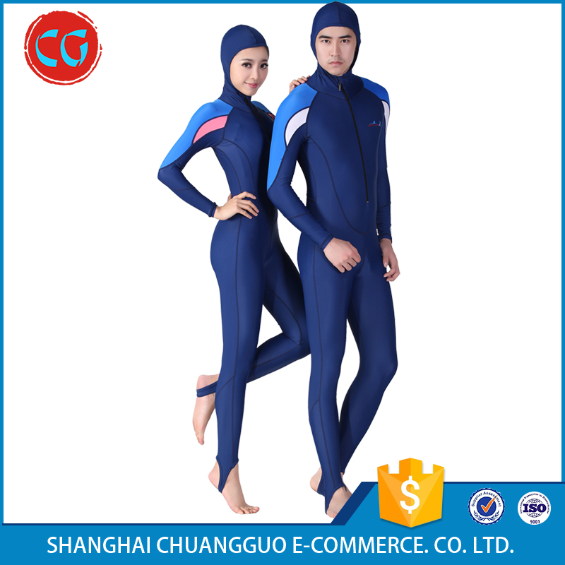 Full Body Sports Skins Dive Skin Summer Sport Suit