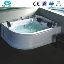 Constar Luxury Professional Freestanding Comfortable Walk In Whirlpool bubble hot massage Bathtub