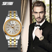 quartz stainless steel back watch luxury watch men's fashion watches