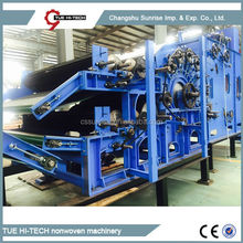 Stable quality automatic electrical non woven carding machine