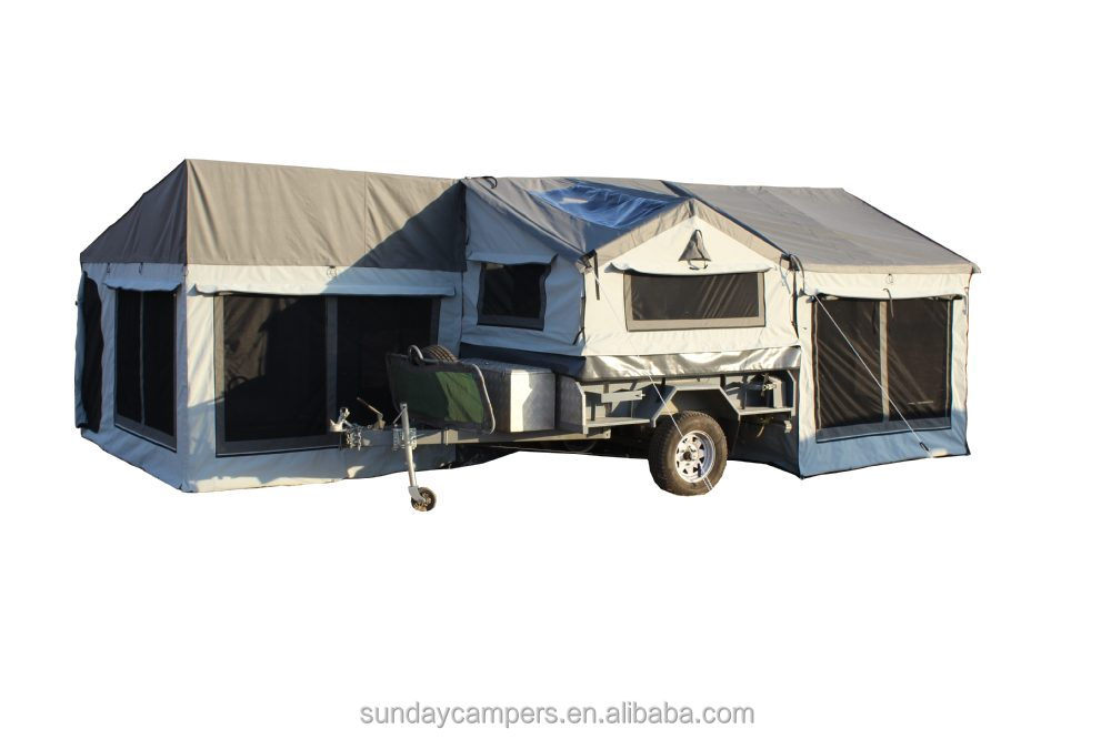 4x4 4wd Camper Trailer Tent 5 Person Durable Canvasv