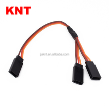 KNT Y type Servo Extension Cord wire For RC JR Futaba 20cm-90cm