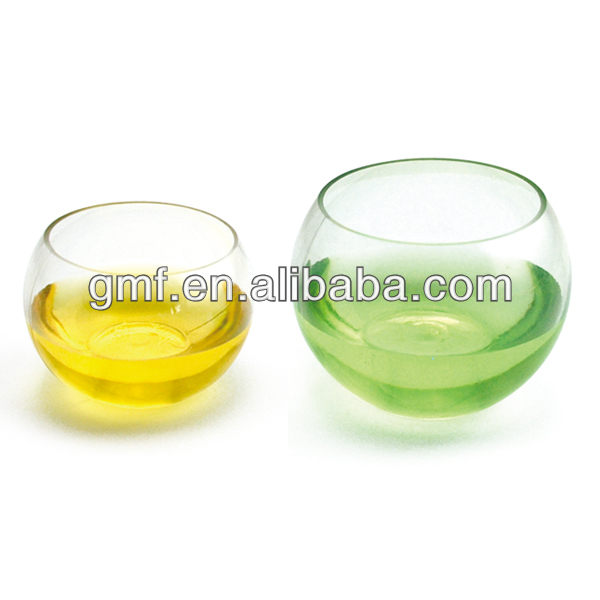 The newest, fashionable and popular disposable PET blown ball bowl 60 cc 130 cc