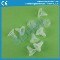 Disposable ear probe cover for ear thermometer