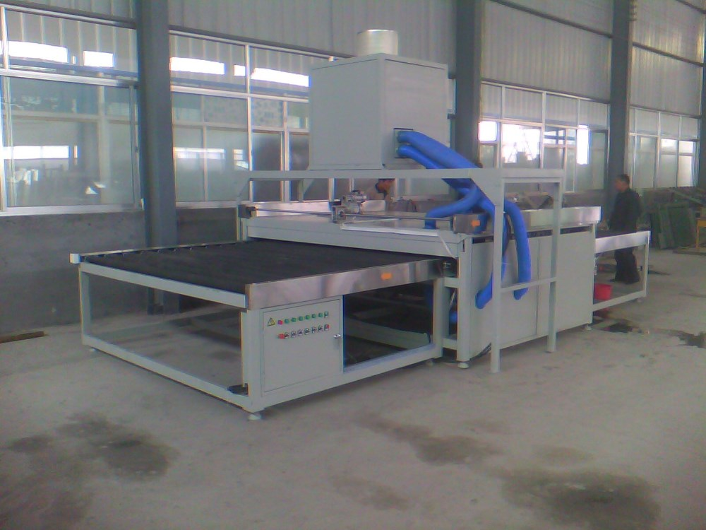 Flat glass washing machine LBZ series Flat float glass washing machine