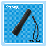 latest China factory waterproof led rechargeable torch