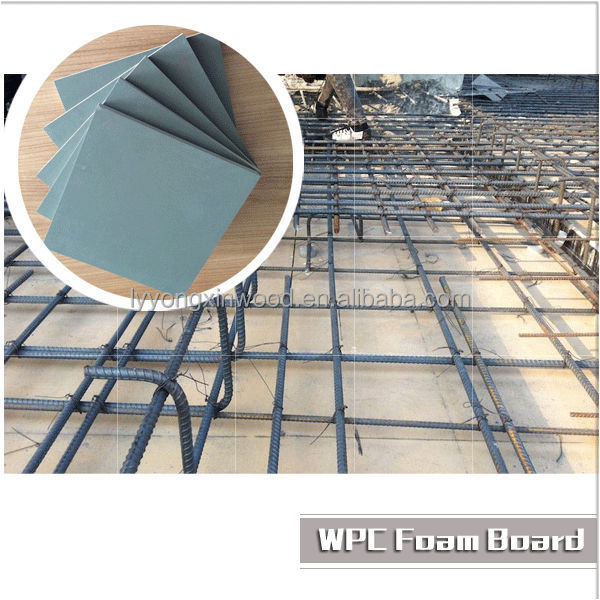 lightweight wood board/wpc building material wpc decking foam board price