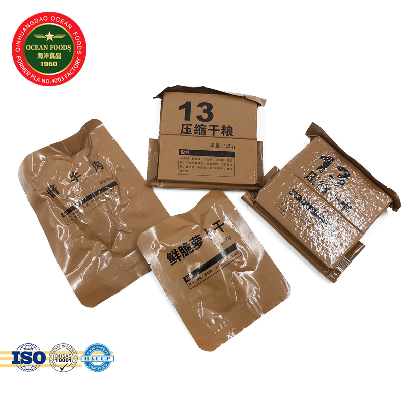 24 Hour Packing Food Ready To Eat Meal Mre Compressed Biscuits