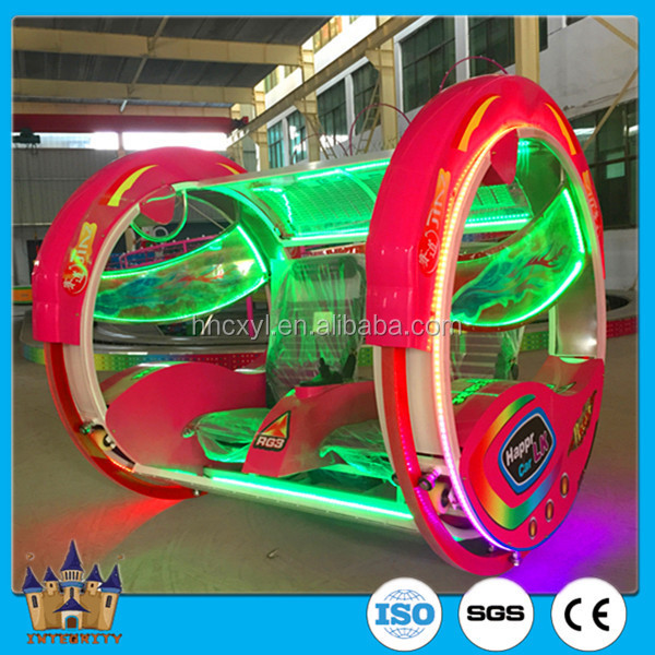 only 1 factory on cheap amusement rides swing car with audio video flashing