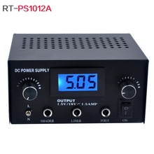 LCD Display Adjustable Tattoo Power Supply
